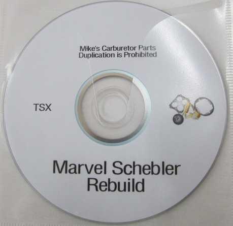 Marvel Schebler DVD