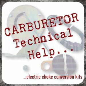 Electric Choke Conversion Kits