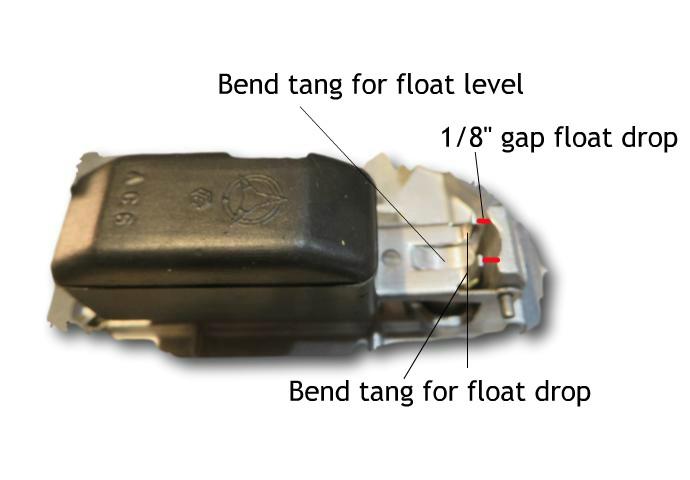 Aisan Float Adjustment