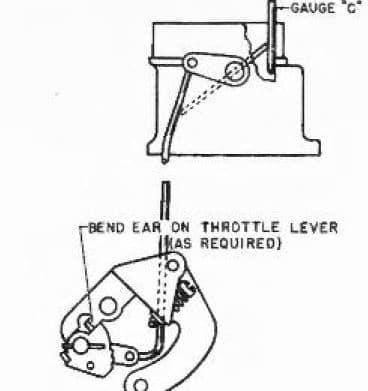 Stromberg Wide Open Kick Adjustment