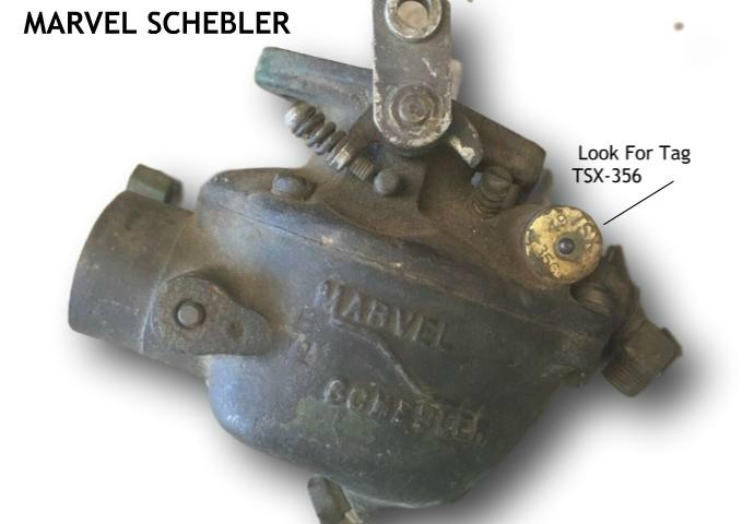 Marvel Schebler Identification