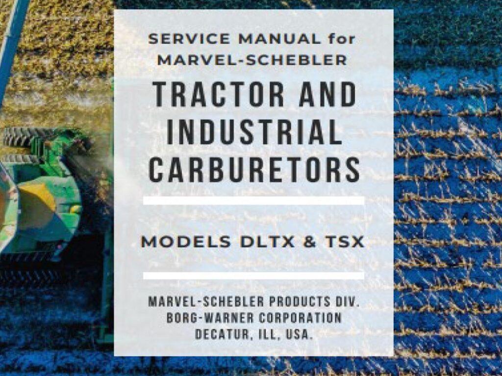 Marvel Schebler Manual