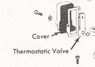 Aisan Carburetor Thermostatic Valve