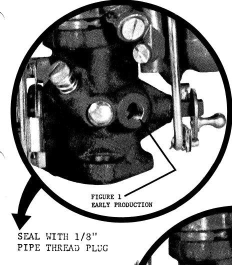 Carter W-0 1 Barrel Carburetor Vacuum Advance