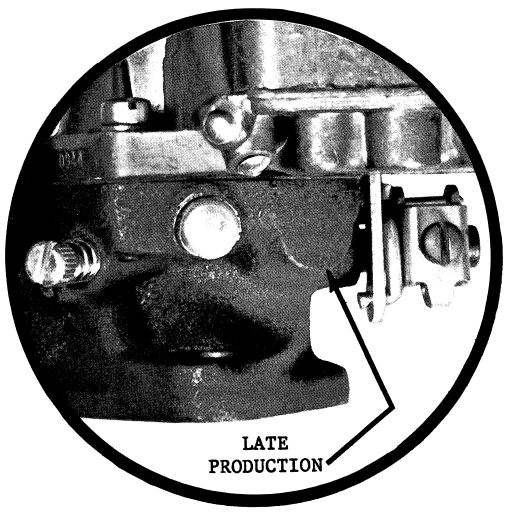 Carter YF 1 Barrel Carburetor No Distributor Advance.