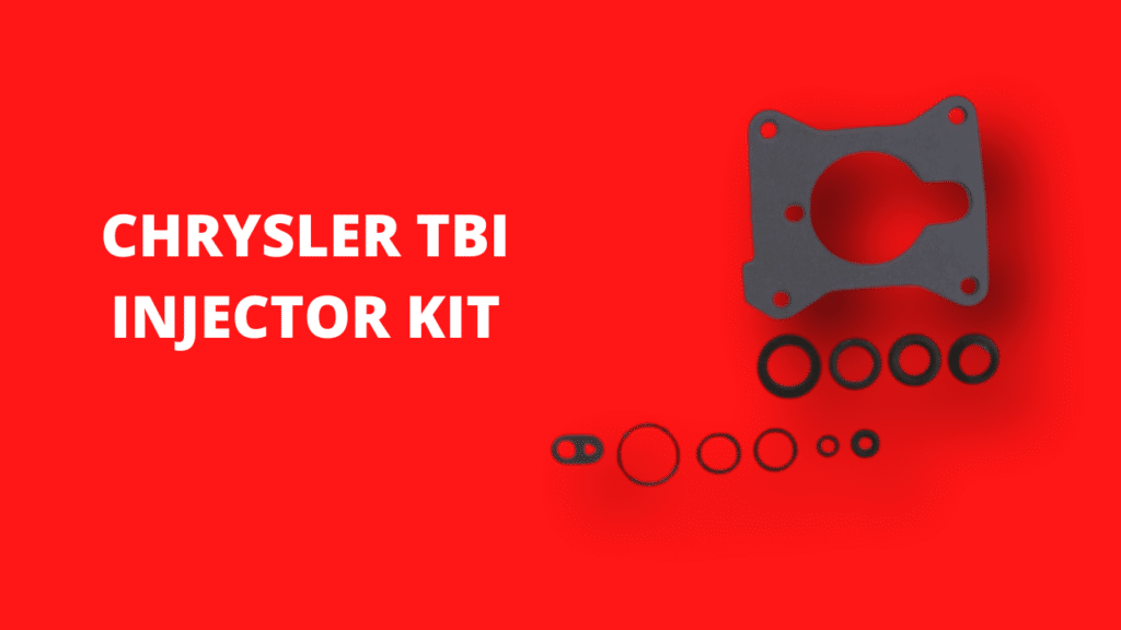 TBI Injector Kit