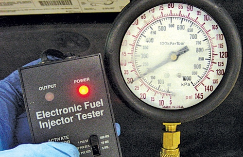 Fuel Injector Test