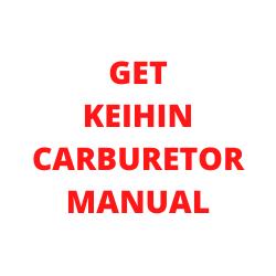 Get Keihin Carburetor Manual